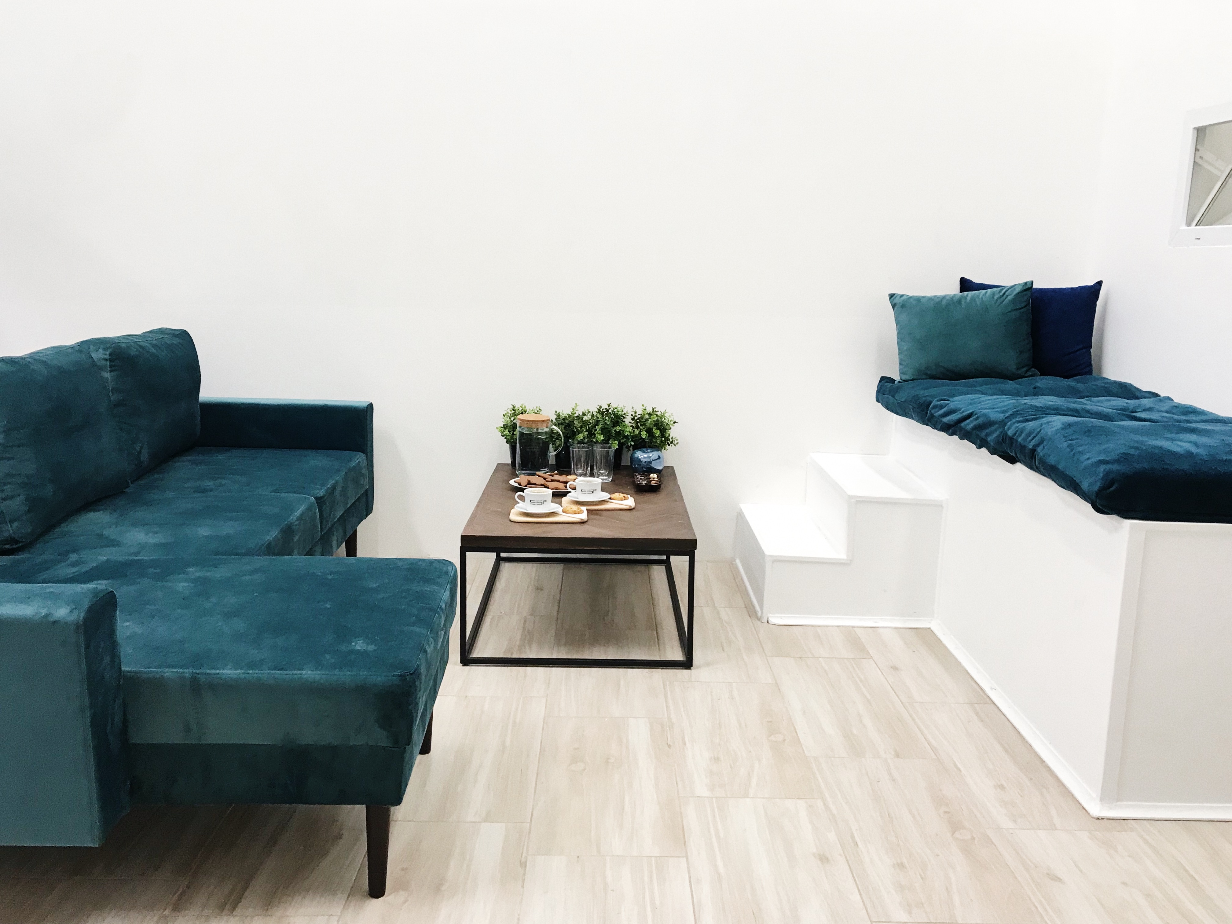 Fotoateliér Swan Studio - interiér - relax zona