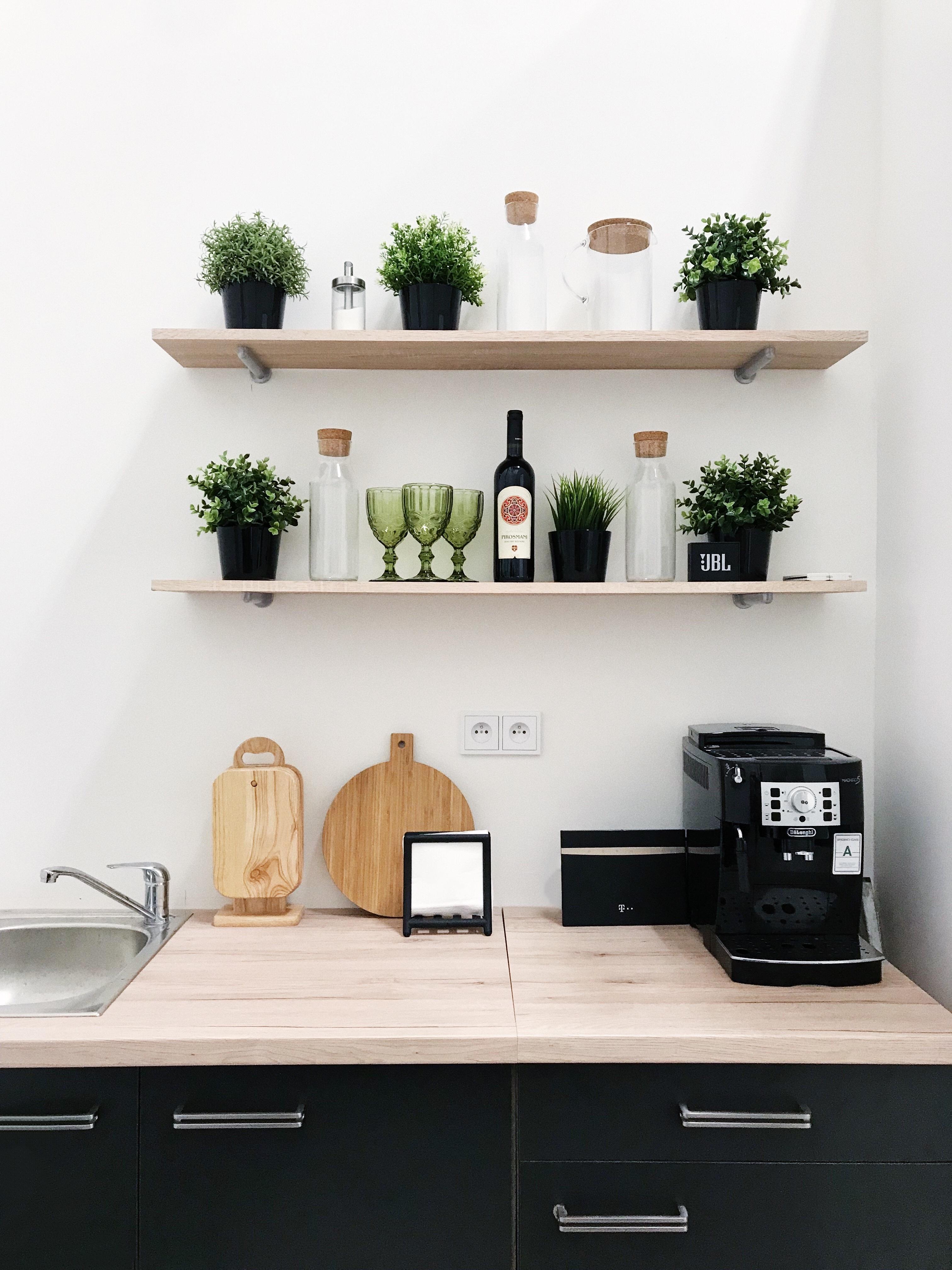 Fotoateliér Swan Studio - interiér - kuchyň